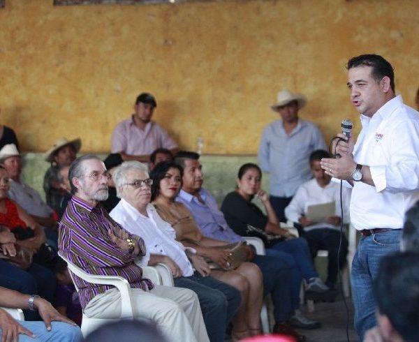 El Coordinador Estatal de Organización de Morena Morelos, Rabindranath Salazar Solorio