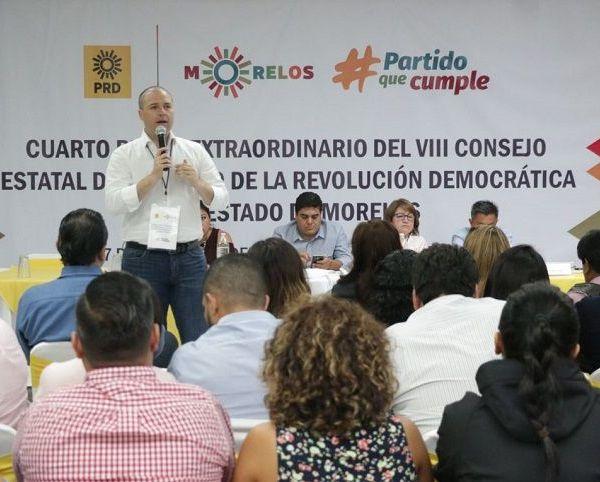 integración del Frente Ciudadano Morelense y un gobierno de coalición