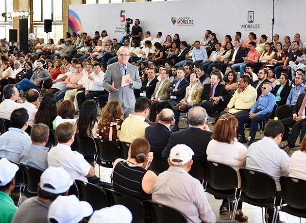 afirmó el gobernador Graco Ramírez al sostener que su gobierno generó condiciones de confianza a los inversionistas