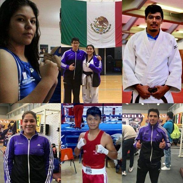 De los deportistas morelenses que logran su boleto a la justa nacional estudiantil son