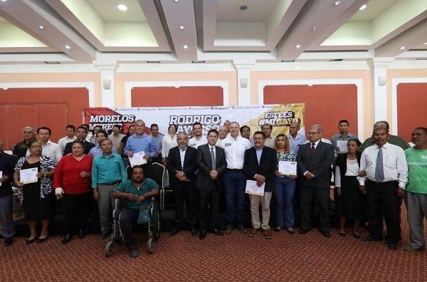 Los creyentes, en voz del Representante de Pastores del Estado de Morelos, Saúl Fidel Arrillo Carrolo, reconocieron la disposición del candidato a estar rodeado de personas honorables y con valor