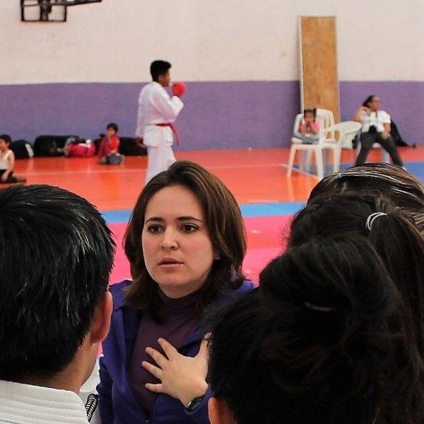 La atleta morelense Martha Embriz Nader, tras una pausa en su carrera deportiva, regresó y obtuvo el primer lugar en el Campeonato Panamericano ISKF (Federación Internacional de Shoto Kan Karate) 2018, celebrado en Panamá