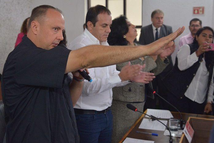 A fin de cumplir de forma oportuna y transparente con los lineamientos enmarcados en la Ley Orgánica Municipal, Blanco Bravo agradeció el trabajo de los regidores y de los trabajadores del Ayuntamiento que lo acompañaron durante dos años nueve meses