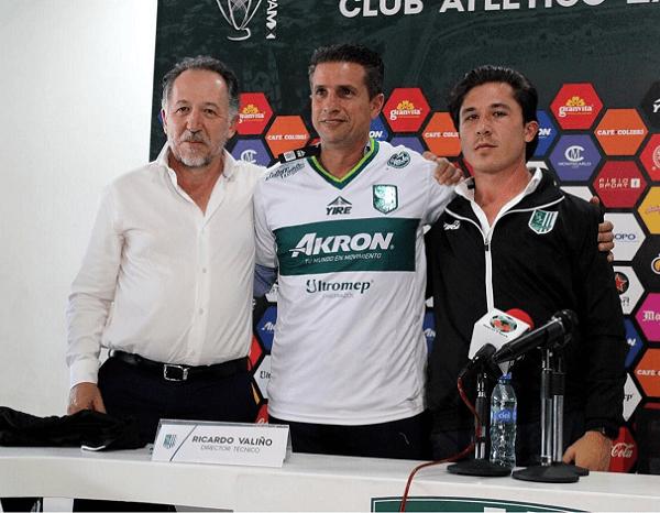 Acompañado por el presidente del equipo, Víctor Arana de la Garza, y del Director Deportivo, Patricio Arana, Ricardo Valiño agradeció a la oportunidad y se comprometió a esforzarse para cumplir los objetivos inmediatos que el equipo se planteó para el Torneo Apertura 2018 del Ascenso MX