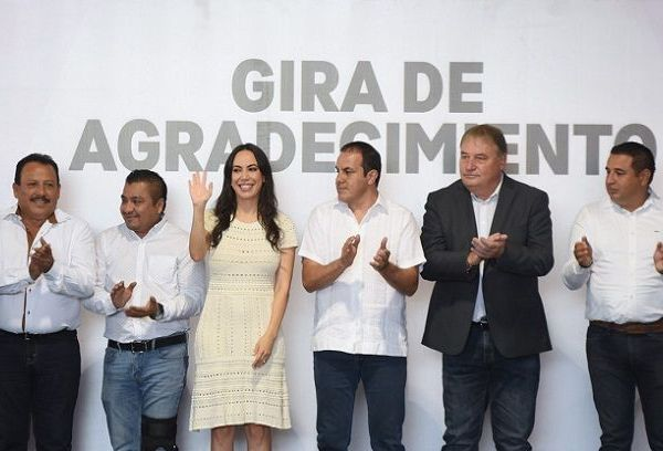 """En el arranque de esta """"Gira de Agradecimiento"""", el gobernador Cuauhtémoc Blanco aseguró que es momento de trabajar sin distingos partidistas a favor de Morelos, porque """"todos somos iguales"""" y ahora lo único que importa es el bienestar de las personas"""