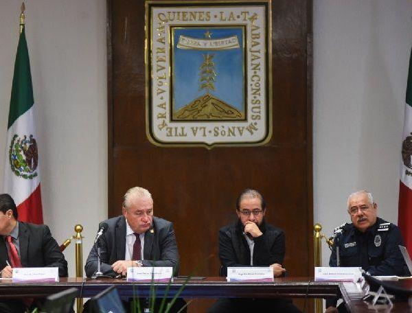Informó lo anterior el titular de la Comisión Estatal de Seguridad (CES), Vicealmirante José Antonio Ortiz Guarneros