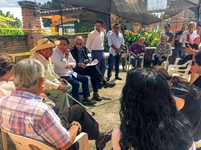El Ombudsman morelense recibió en su oficina sede a un grupo de 25 ciudadanos del municipio de Cuautla, que manifestó su oposición al Proyecto Integral Morelos, específicamente sobre la termoeléctrica de Huexca
