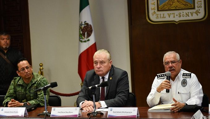 """""""No hemos vuelto a tener conocimiento que ese comando resurja aquí, no en Morelos"""", señaló el funcionario al término de la reunión de la Mesa de Coordinación Estatal para la Construcción de la Paz, en donde estuvo presente el jefe de la Oficina de la Gubernatura, José Manuel Sanz Rivera"""
