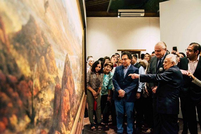 Tras inaugurar las exposiciones, José Manuel Sanz Rivera, jefe de la Gubernatura, manifestó que la cultura será una prioridad para el Gobierno Estatal, que sensibilice y fortalezca el patrimonio de los morelenses