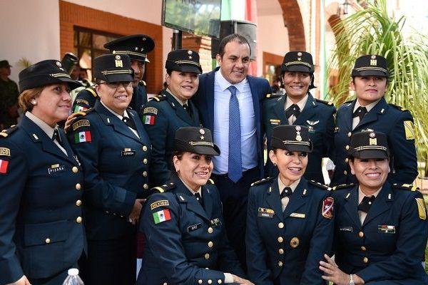 Aseguró que en Morelos se tiene una adecuada coordinación con el Ejército Nacional e instituciones encargadas de la seguridad y justicia de todos los niveles de gobierno, en el trabajo diario para devolver la paz a los ciudadanos