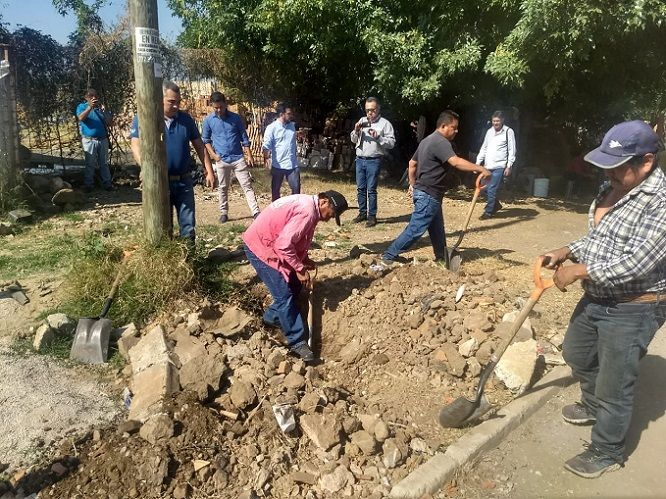 El operativo especial arrancó en la Carretera Federal Cuernavaca-Tepoztlan, en el poblado de Ahuatepec, frente a la fábrica de Cartuchos