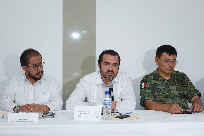 El secretario de Gobierno, Pablo Ojeda Cárdenas, destacó que el tema de seguridad no tiene colores, por el contrario, debe existir una sinergia con los municipios y autoridades federales, para que prevalezca la seguridad y la paz que anhelan todos los ciudadanos