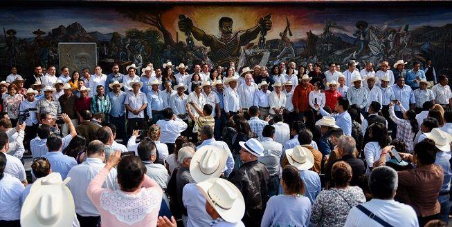 El evento oficial fue encabezado por el José Manuel Sanz Rivera, jefe de la Oficina de la Gubernatura y empresario de origen español; y en representación del presidente de la República, Andrés Manuel López Obrador, Francisco Taibo II, director general del Fondo de Cultura Económica de la Secretaría de Cultura