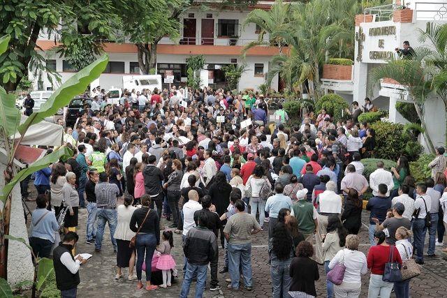 La Jefa de la Oficina de Presidencia, Laura Mendizábal, a nombre del alcalde Antonio Villalobos, encabezó este evento, con motivo del Día Nacional de Protección Civil, afirmó que en Cuernavaca estamos preparados para atender cualquier contingencia