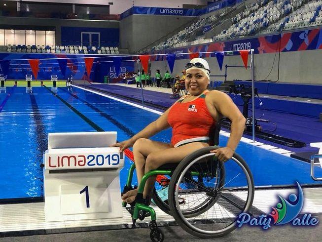 Una vez más la tlahuica, como toda una guerrera, peleará en la piscina por un lugar en la próximo Para olimpiada del 2020, no será nada sencillo, pero no baja la guardia