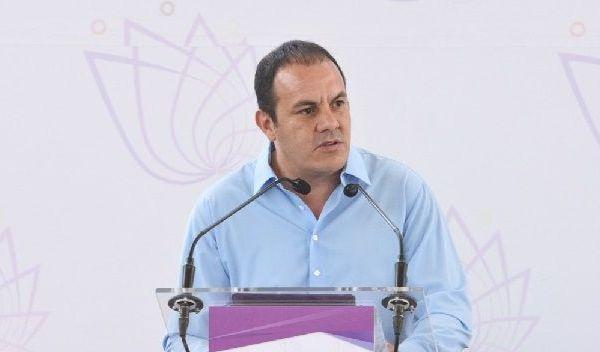 """""""No les vamos a fallar"""", dijo el gobernador al reiterar que la problemática que vive Morelos es causa de los malos manejos de las autoridades anteriores, dijo desde Tepalcingo"""