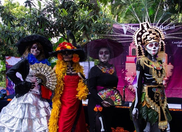 En rueda de prensa, la titular de la STyC, Margarita González Saravia, y el alcalde Celso Nieto Estrada, dieron a conocer que con este evento se da inicio en Morelos a las actividades conmemorativas y tradicionales al Día de Muertos 2019