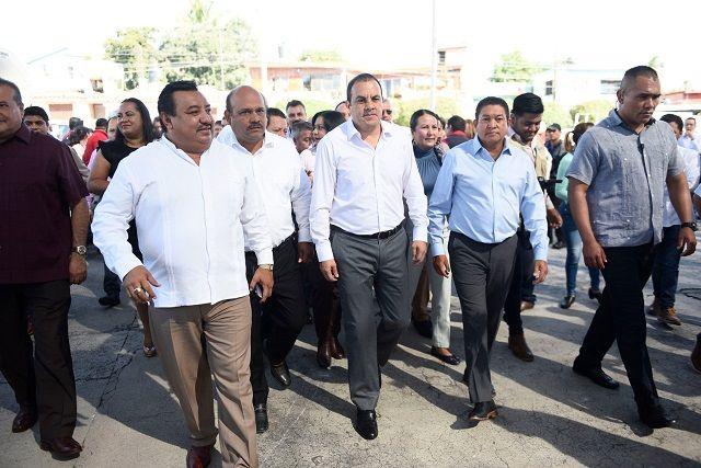 Anunció que se e invertirán 47 millones de pesos entre los municipios de Emiliano Zapata, Huitzilac, Temixco y Xochitepec, con el objetivo de mejorar el abastecimiento de agua a los morelenses