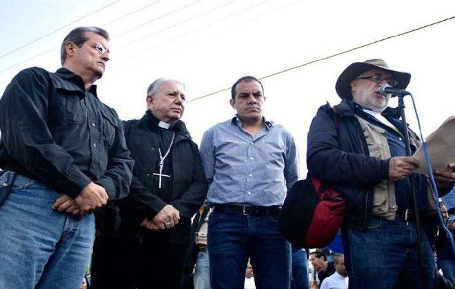 """Con el lema """"seamos ciudadanos de paz"""" informó que la Diócesis de Cuernavaca sumará a dicha movilización social, que han convocado diversas organizaciones no gubernamentales y ciudadanos en lo individual"""