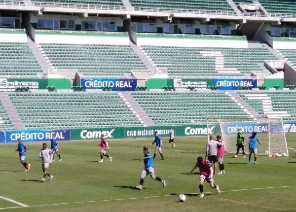 """De cara a su debut, este sábado, en el Estadio Agustín """"Coruco"""" Díaz los Cañeros reciben a los Toros del Celaya, por ello trabajaron fuerte en la semana y ahora con un ligero trabajo cierran filas para su juego en casa"""