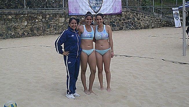 La dupla conformada por Marissa Arenas y Mariana Trujillo avanzó sin ningún contratiempo después de ganar de manera contundente sus dos encuentros