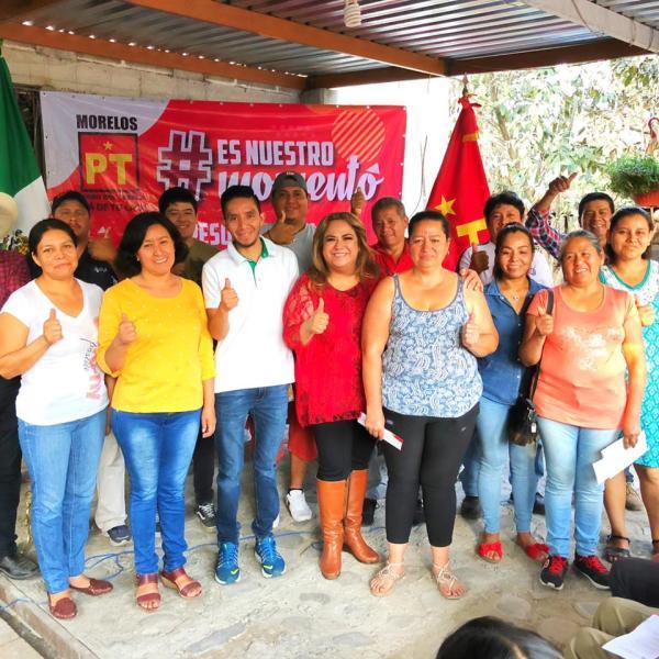 La dirigente partidista dejó en claro que el Partido del Trabajo se está fortaleciendo con la suma de mujeres y hombres comprometidos con el estado de Morelos y sus municipios