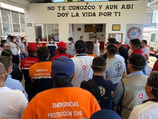 Afirmó que quienes trabajan en estas instituciones seguirán las recomendaciones del Comité Municipal de Contingencia Covid-19 y serán quienes actúen en situación de emergencia, al brindar el auxilio a la población