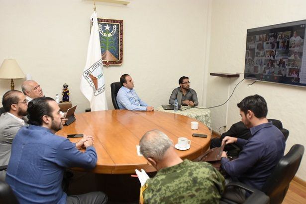 Lo anterior, con el objetivo de coordinar las acciones en materia de seguridad para atender la contingencia sanitaria por COVID-19 que enfrenta el país y el estado de Morelos