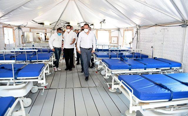 Dicho espacio, el cual cuenta con todo lo necesario para brindar atención de calidad, recibirá a pacientes que requieran hospitalización corta por otro tipo de padecimientos, dejando libres las instalaciones del nosocomio para los casos COVID-19 que requieran cuidados intensivos