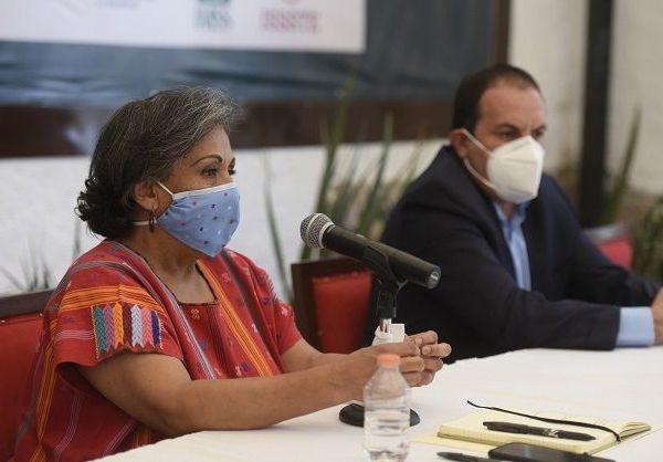 Veites Arévalo, quien también es directora general del Instituto Nacional de las Personas Adultas Mayores (INAPAM), se comprometió a mantener una vinculación permanente para poder gestionar el equipo y de ser necesario el personal médico que requiera el estado en la atención de la contingencia