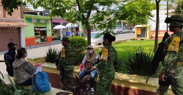 La capital morelense es donde más se realiza este operativo, con la participación de la Secretaría de la Defensa Nacional, Guardia Nacional, Policía Estatal Morelos, Policía municipal y Protección Civil estatal, quienes han recorrido la mayor parte del municipio