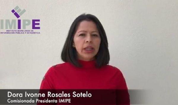 la comisionada presidenta del IMIPE, Dora Ivonne Rosales Sotelo, informó que de 2017 al 2020 el Instituto recibió cuatro mil 533 recursos de revisión, de los cuales 284 están pendientes de resolver derivado de la suspensión de términos por la contingencia sanitaria que se vive