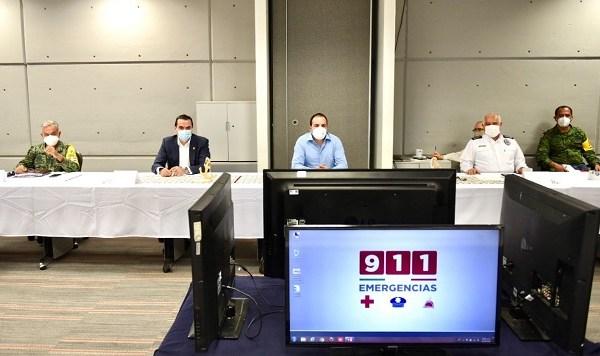 La sesión de la Mesa se realizó en el Centro de Coordinación, Comando, Control, Comunicaciones y Cómputo -C5 Morelos-, donde los integrantes dieron seguimiento a los temas con mayor relevancia en materia de seguridad pública y justicia