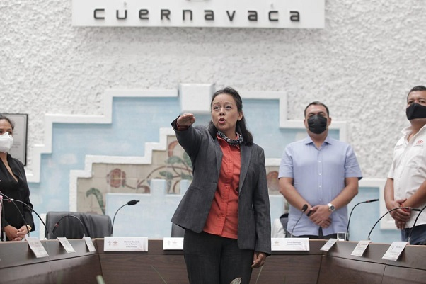 Nombramiento del pleno del Cabildo, avalado también por Santiago Nieto Castillo, titular de la Unidad Inteligencia Finaciera (UIF)