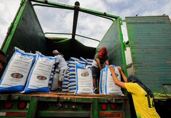 """Indicó que este apoyo se brinda sin intermediarios por instrucción precisa del gobernador Cuauhtémoc Blanco Bravo. """"Es una gestión que el Gobierno del Estado hace específicamente para dar la cobertura de fertilizante a todo el estado, para que la siembra esté garantizada este año"""""""