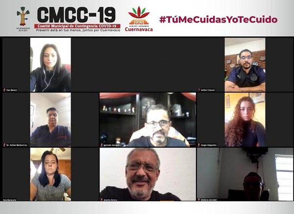 En esto coincidieron los miembros del Comité Municipal de Contingencia COVID 19 (CMCC-19) al sesionar de manera extraordinaria la mañana de hoy