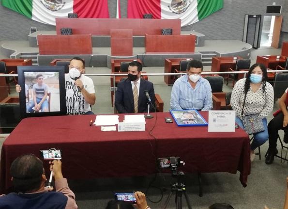 Los familiares de las víctimas lamentaron la falta de sensibilidad de las autoridades para atender este caso y del gobernador Cuauhtémoc Blanco Bravo