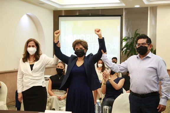 """enovación Morelense, presentara de manera formal a la expresidenta de la Coparmex, como su abanderada rumbo a la contienda electoral por """"la joya de la corona"""", las especulaciones se desataron"""