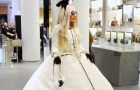 Lady Gaga Shines in a Custom Chanel Dress