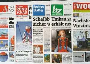 In Österreich erreichen wir die Konsumenten mit den Bezirkszeitungen.