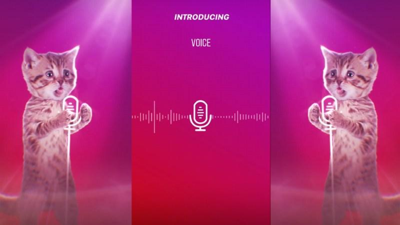 mesajele vocale instagram voice