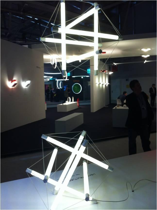 Avanluce, Luz Structure_ Ingo Maurer