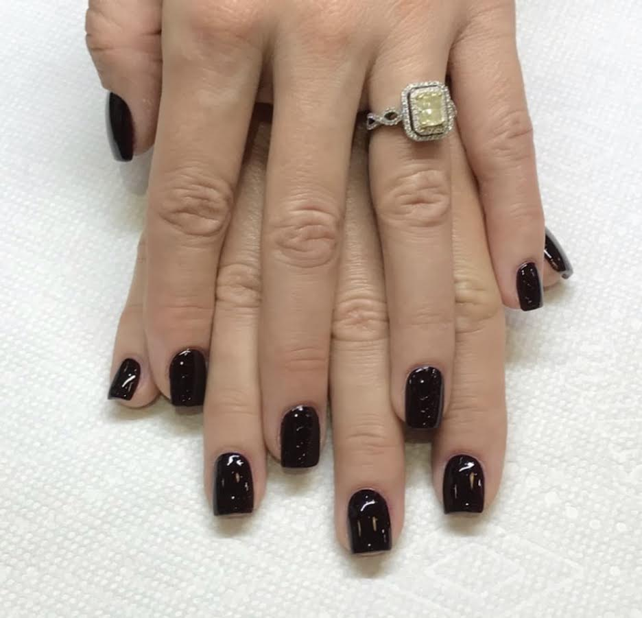 Manicure With Sac Polish C Gables Spa