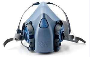 3M OH & ESD 142-7502 Moyen demi-masque r-utilisable ultime