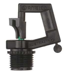 Antelco Rotor pluie 1/5,1cm Mnpt 1,5mm Vert Base Lot de 1Emballé pour Buttacup