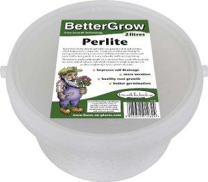 Bac de perlite BetterGrow 2litres