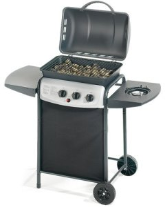 Ompagrill Barbecue à gaz 'Ecolava Plus' à pierres de lave