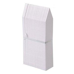 Pixnor Jardin de plantes en plastique pour le 4 pouces 100pcs étiquettes Pot marqueur pépinière jardin jeu Tags blanc