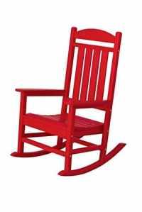 polywood R100sr Présidentielle à bascule, coucher de soleil Rouge