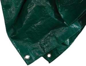 Siena Garden 671086Polyéthylène Protection Bâche Vert 6x 8m